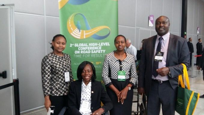 Keyan delegates in Brazil